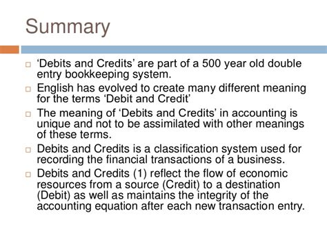 historic meaning debits and credits in accounting history and definition