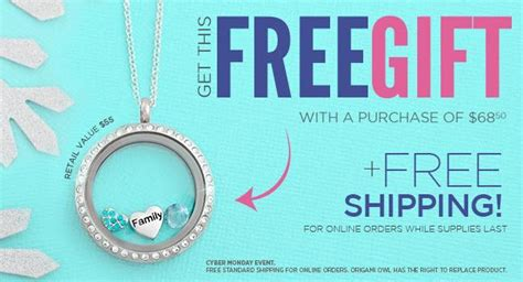 Origami Owl Shipping - origami owl cyber monday special december 1st charms