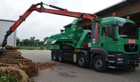 man tga  jenz mobile chipper truck farming simulator   mod
