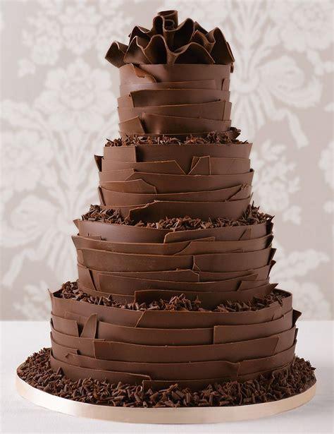 Chocolate Wedding Cake Designs by Best 25 Chocolate Wedding Cakes Ideas On