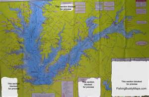 map of lake fork lake fork fishing topographical map