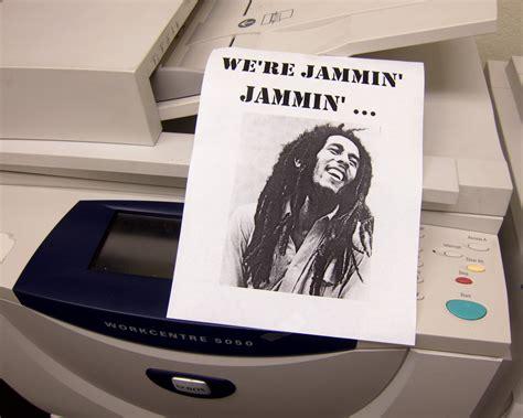 Office Space Paper Jam The Robert Nesta Quot Bob Quot Marley Memorial Copy Machine Flickr