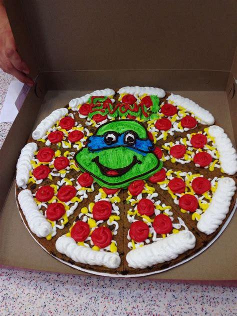 turtle cookie cake tmnt