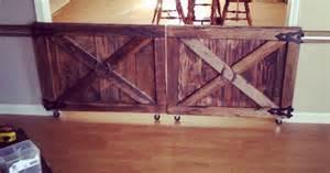 rolling barn door plans custom made barn door rolling baby gates house stuff