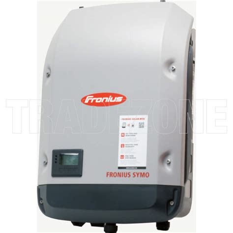 3 Mppt Inverter by Fronius 5kw 3 Phase Symo Solar Inverter Dual Mppt Ip65 Ac