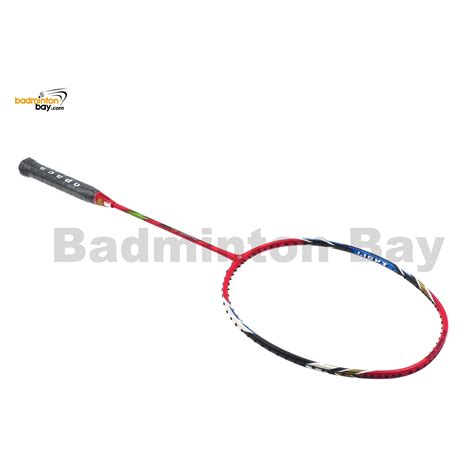Apacs Virtuoso Light Red Badminton Racket 6u Edge Saber