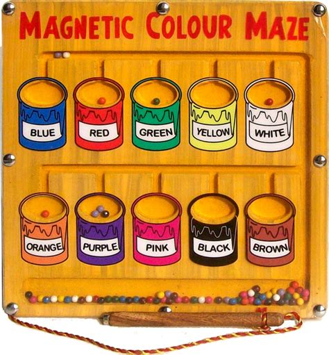 magnetic color maze and toys mfm toys magnetic wooden educational