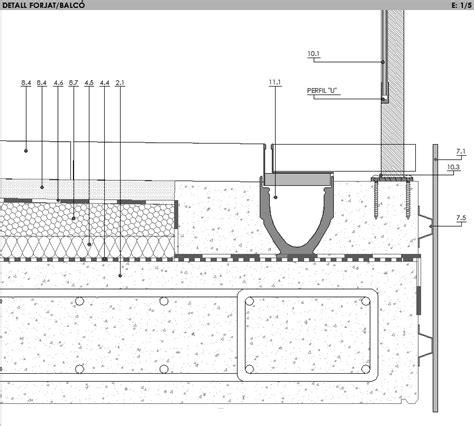 barandilla tipo sargento colocaci 243 n canal de drenaje oculto en cubierta plana
