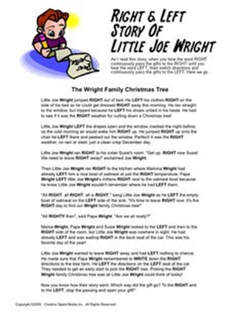 Left And Right Gift Exchange Story - 1000 images about on
