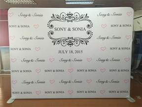 Photography Backdrop Stand Logo Walls For Weddings