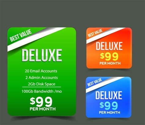 web price web price tag design vector 01 millions vectors