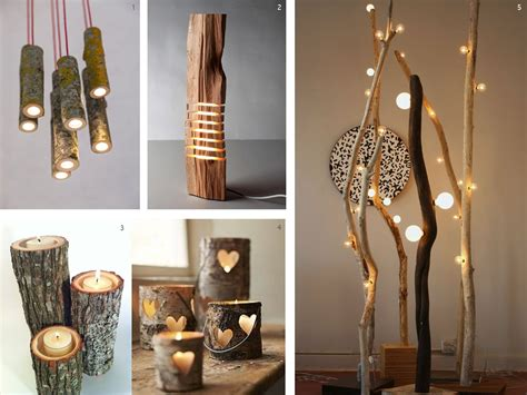 rodajas arbol manualidades el bosque en casa ramas troncos y manualidades en madera