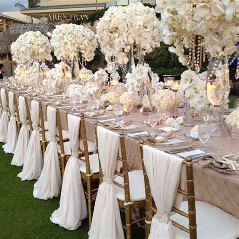 Wedding Tablescapes tablescapes white indian weddings magazine 2545654
