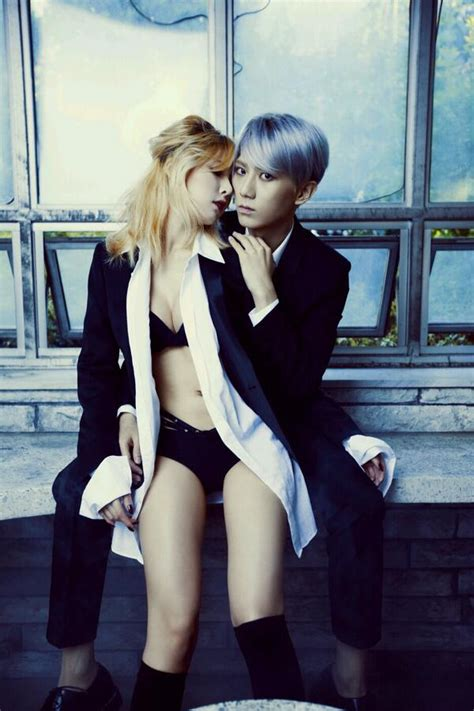 take a look at 4minute s hyuna s hipster fashion in hyuna and hyunseung reveal teaser for their trouble maker
