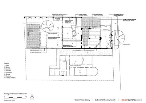 cake shop floor plan gallery of golden crust bakery jackson clements burrows