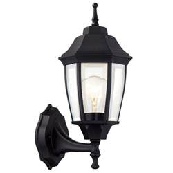 home depot outdoor lights hton bay 1 light black dusk to outdoor wall
