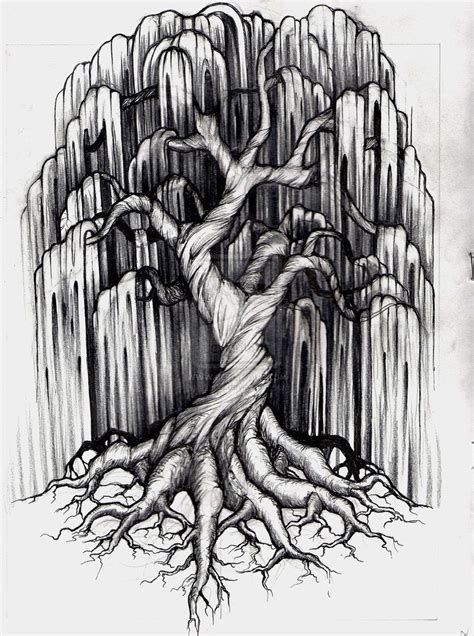 southern draw tattoo willow tree artists that inspire