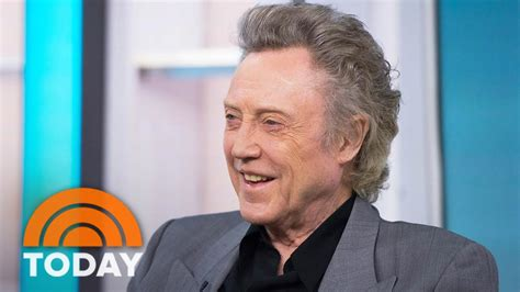 christopher walken at i t tell when are imitating me today