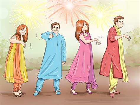 Steps To Dressing For A Festival by How To Celebrate Diwali 14 Steps With Pictures Wikihow