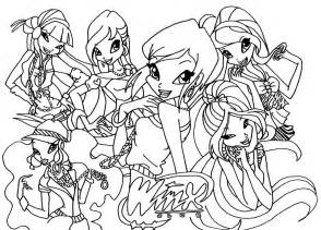 winx club coloring pages winx club coloring pages