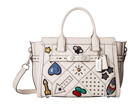 Coach Swagger 27 Embelished coach embellished quilt coach swagger 27 at zappos