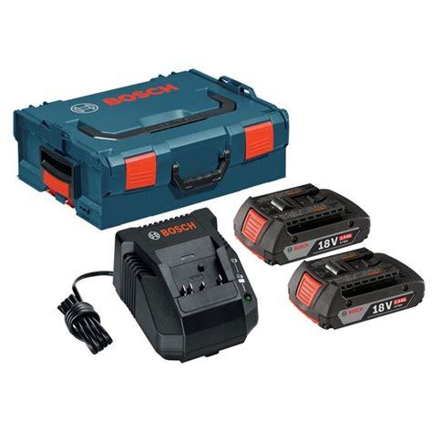 bosch 18v battery charger bosch skc181 202l 18v 2 batteries charger starter kit