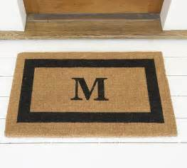 Initial Doormat by Femail S Personalized Present Guide For This