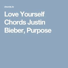 strumming pattern love yourself love yourself chords capo 4 justin bieber pinterest