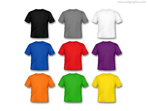 T Shirt Be Different blank white t shirt psd psdgraphics