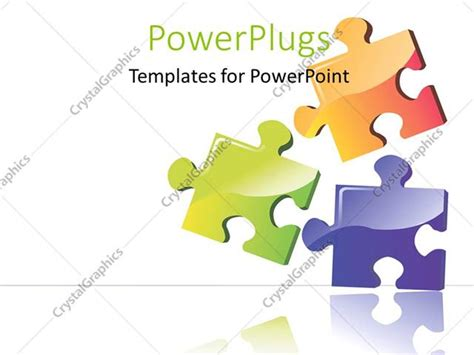 Powerpoint Template Three Color Puzzle Boards With White Color 24149 Powerpoint Jigsaw Template
