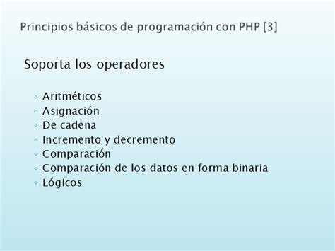 operadores de cadenas en php desarrollo de aplicaciones web din 225 micas con php