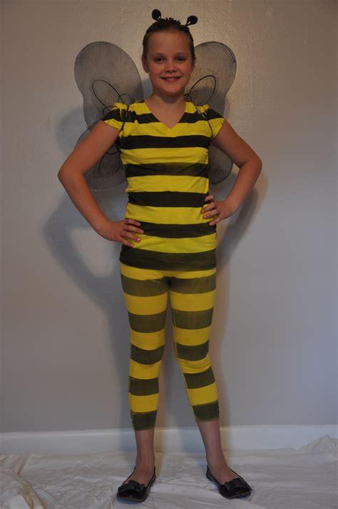 easy diy costumes bumblebee costume mommysavers
