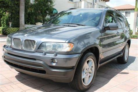 sell used 2003 bmw x5 4 4i all wheel drive fla kept best