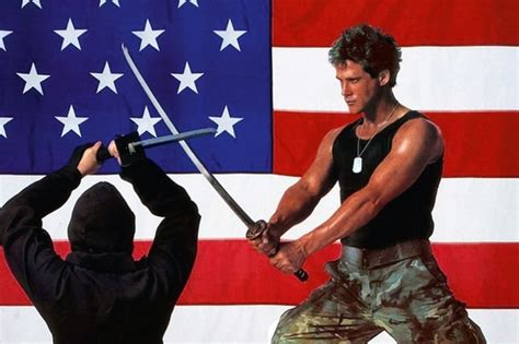 film ninja american michael dudikoff interview navy seals v zombies spider