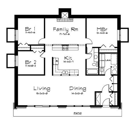 Berm Home Floor Plans | rockspring hill berm home plan 057d 0017 house plans and