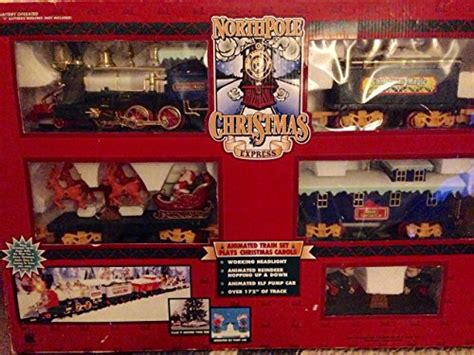 north pole christmas express train set import it all