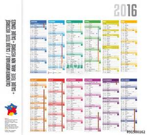 Calendrier N Semaine 2016 Quot Calendrier 2016 Cong 233 S Lunes N 176 Semaine Avec