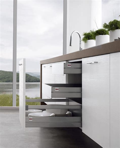 modern kitchens without cabinets by treo