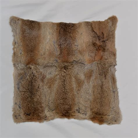 buy wholesale rabbit fur cushion from china rabbit