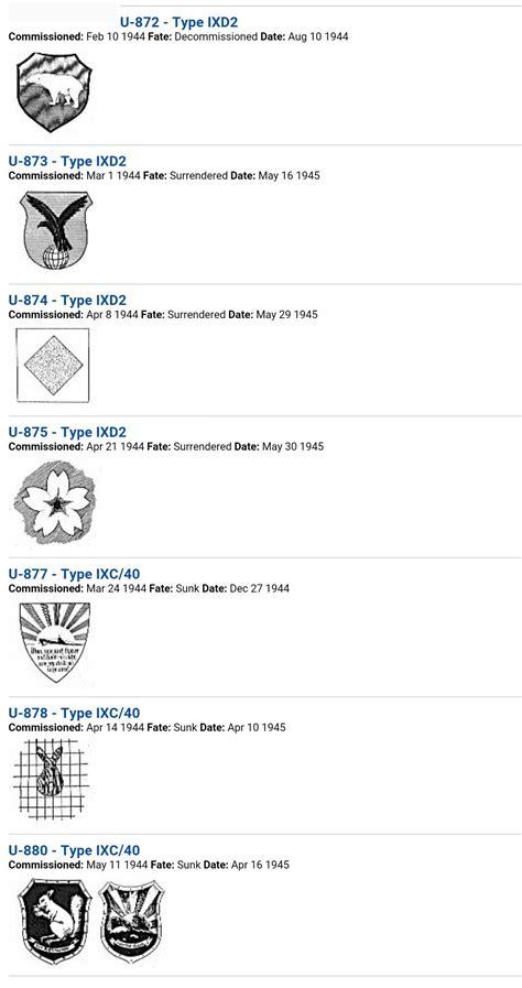 u boat emblems u boat insignia emblems ponorky pinterest