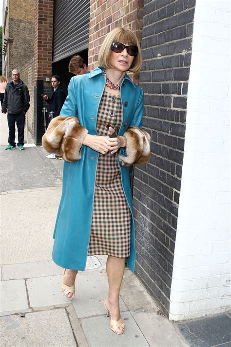 Wintour Wardrobe by Wintour Made Way Around Fashion Week In A