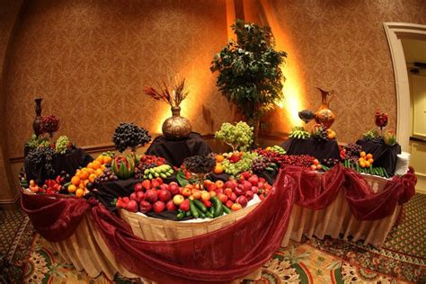 fruit table for wedding after dinner fruit sofreh aghd ceremony ideas