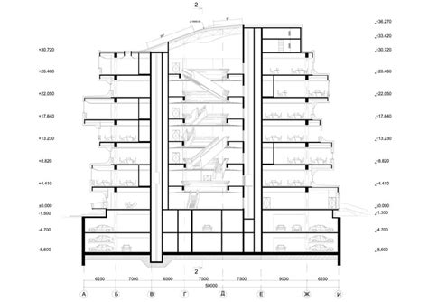 ce section edif 237 cio de escrit 243 rios dominion zaha hadid architects