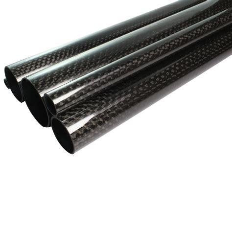 Rohre Lackieren Preis cfk carbon rohr gewickelt 7x5x1000 mm geschliffen lackiert