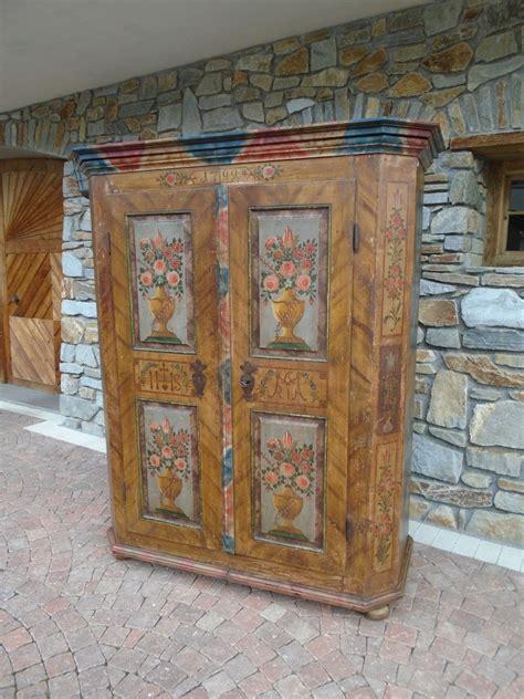 armadio dipinto armadio dipinto prov stiria a antichit 224 evelina
