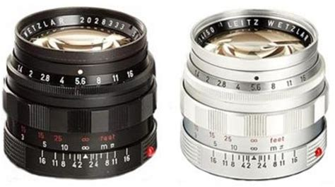 50mm f/1.4 summilux m ii leica wiki (english)