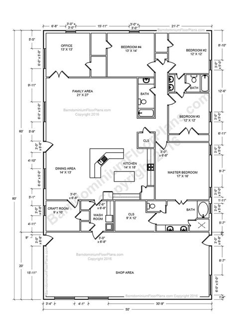 Pole Barn Floor Plans by 25 Best Ideas About Metal House Plans On Pinterest Open