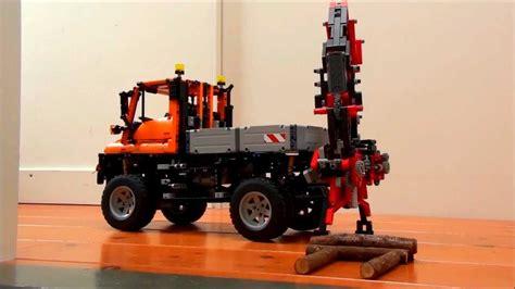 motorized crane motorized crane for lego technic 8110 unimog