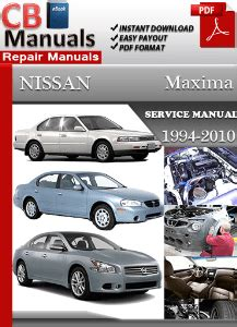 free auto repair manuals 2008 nissan maxima security system nissan maxima 1999 service manual free download service repair manuals