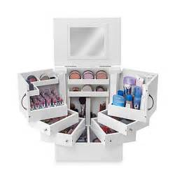 Bathroom Counter Makeup Organizer Lori Greiner Deluxe Cosmetic Organizer Box Bed Bath Amp Beyond